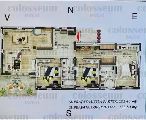 Casa Cristian 500 mp teren Comision 0